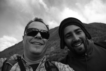 With Hugo Marrero, in the mountains of Vallecitos. See Marrero et al. (2017) Agriculture, Ecosystems and Environment 239: 304-309.