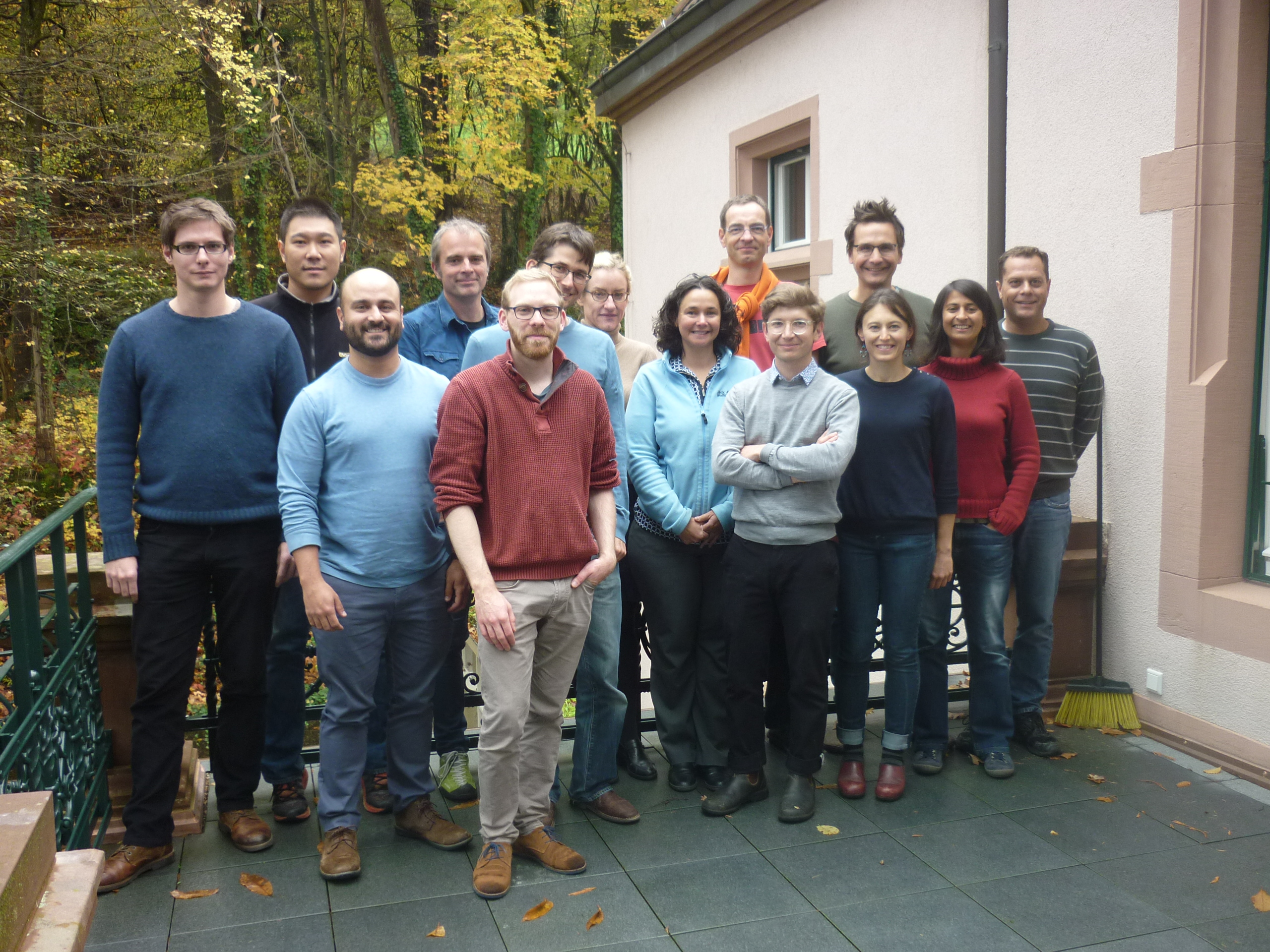 Participants of workshop on temporal mutualistic networks